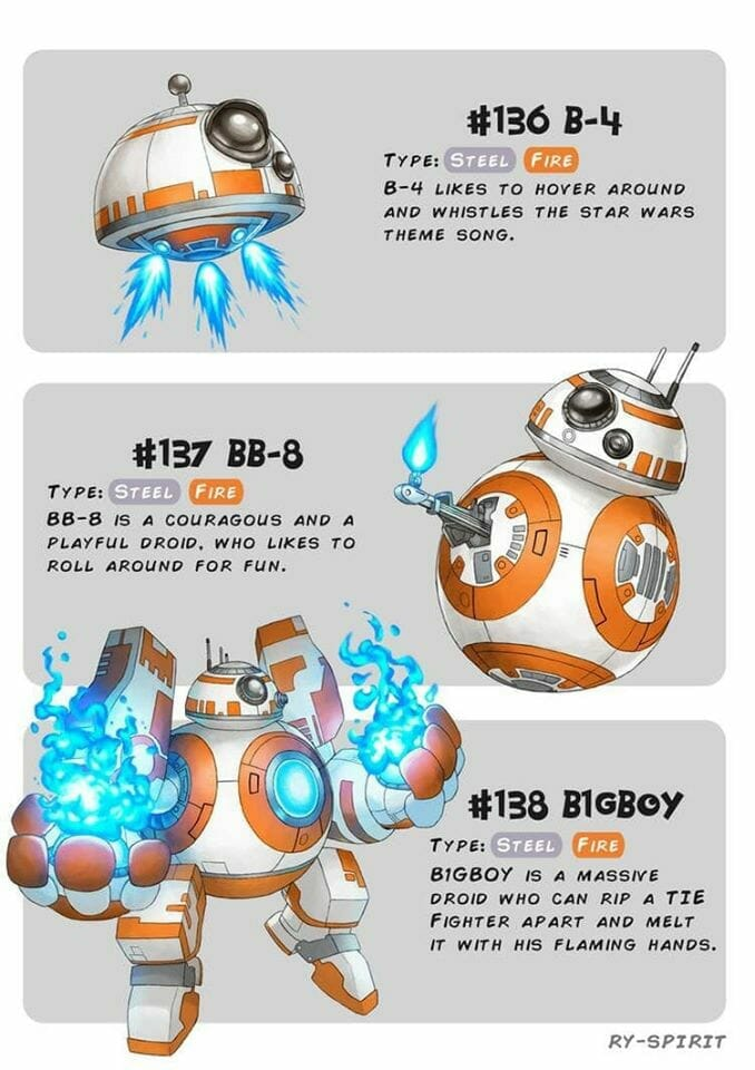 BB-8 Pokemon