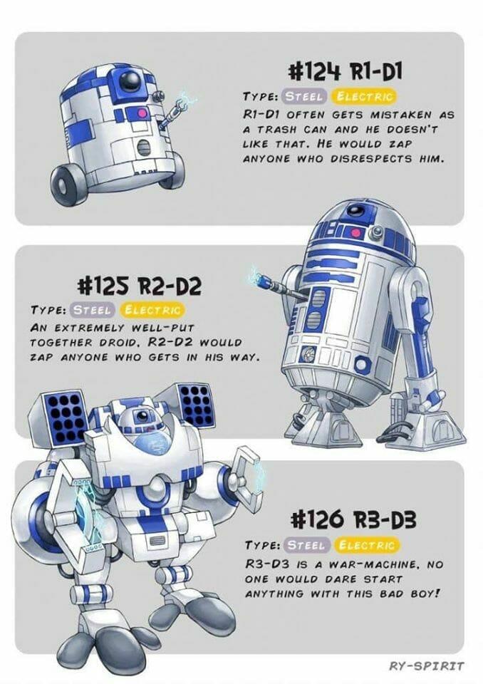 R2-D2 Pokemon