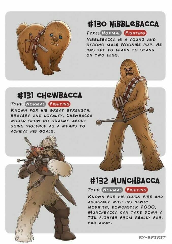 Chewbacca Pokemon