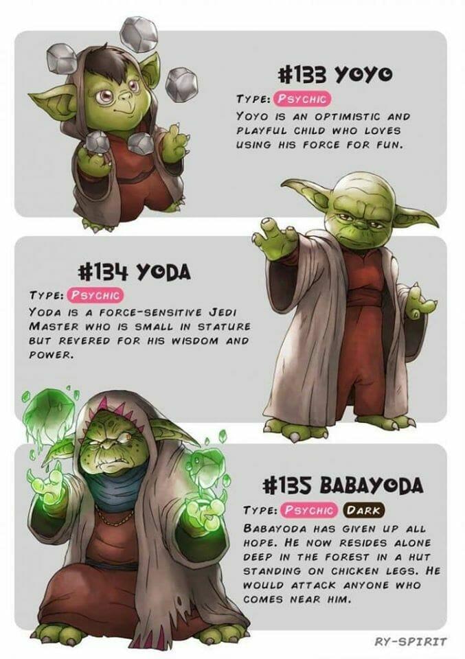 Yoda Pokemon