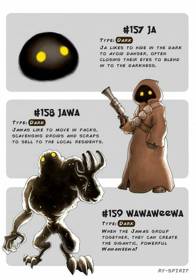 Jawa Pokemon