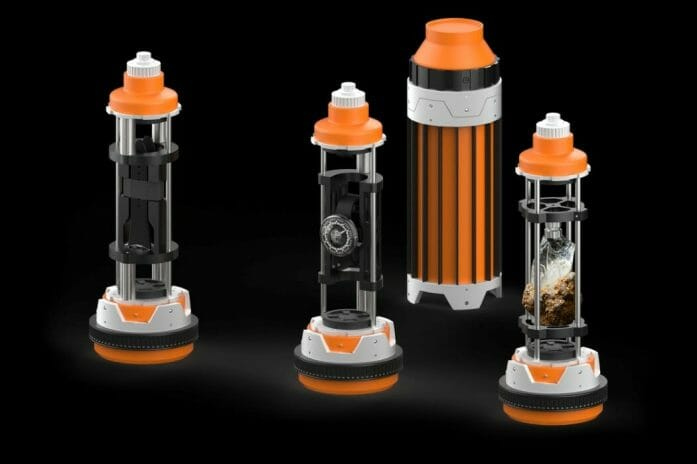 Kyber Crystal container