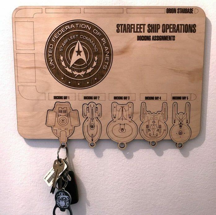 Star Trek Federation key holder