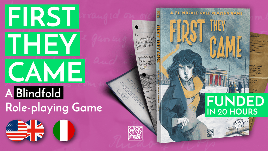 First They Came is an RPG you play blindfolded