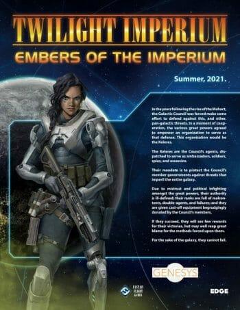Twilight Imperium:  Embers of the Imperium