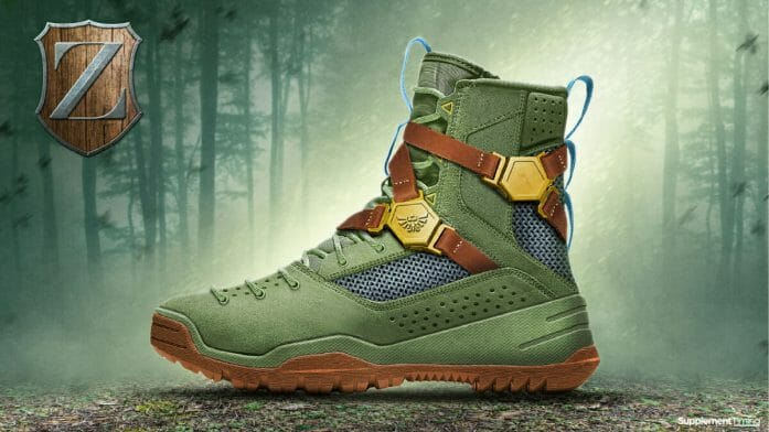 Zelda - Breath of the Wild shoe design concept