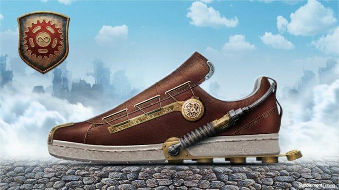 Bioshock Infinite shoe design concept