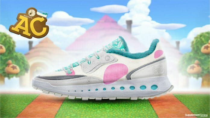 Animal Crossing: New Horizons shoe design concept