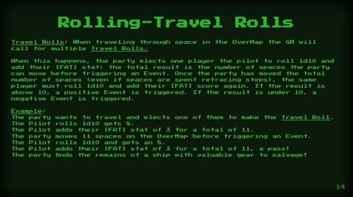Travel Rolls