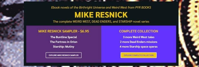 Mike Resnick bundle
