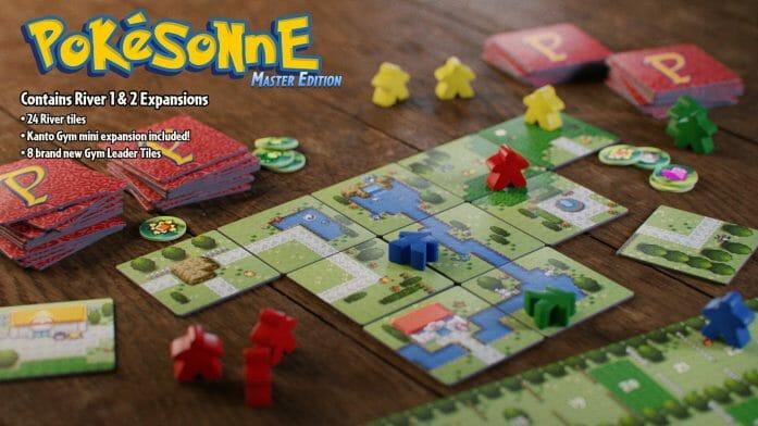 Pokemon (Carcassonne) master edition