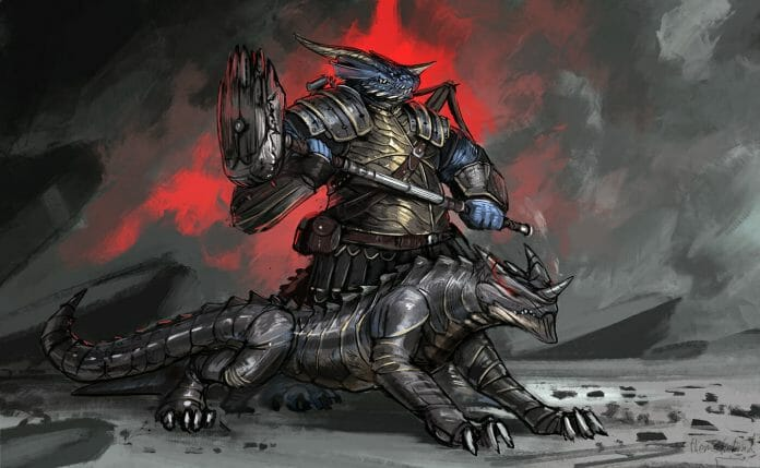 Dragonborn artificer by ThemeFinland