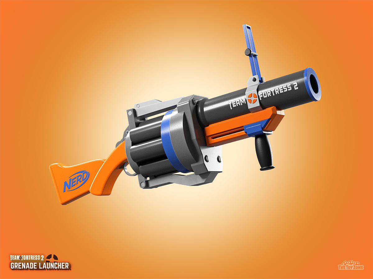 Team Fortress 2 Nerf Blaster