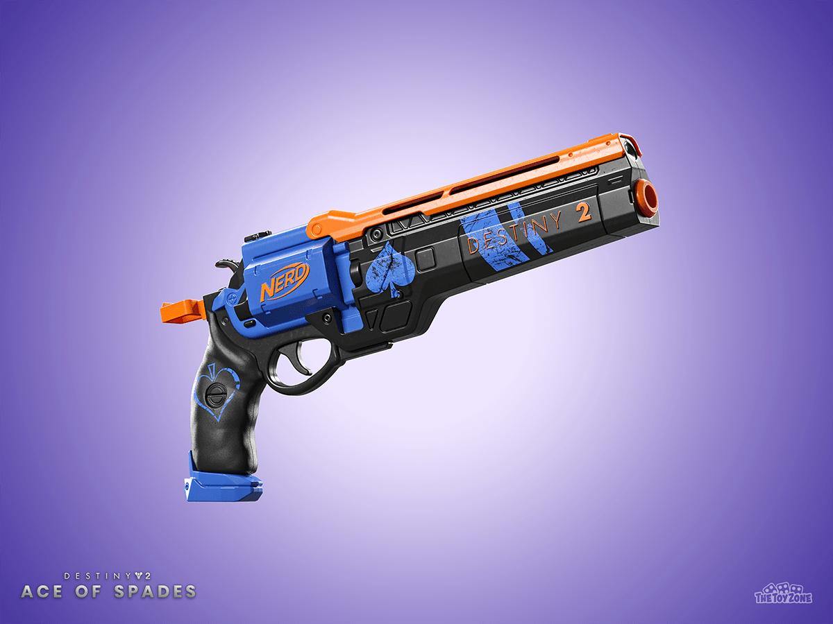 Destiny 2 Nerf Blaster