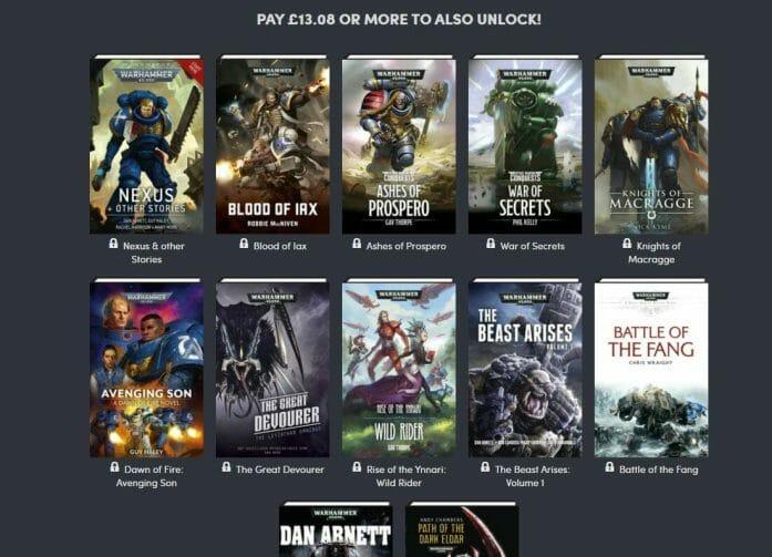 Warhammer 40K ebook collection