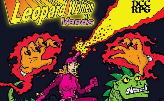 Leopard Women of Venus