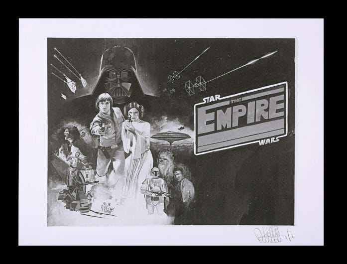 Star Wars concept posters