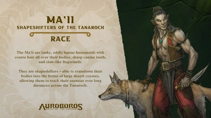 Ma'll Shapeshifters of the Tanaroch