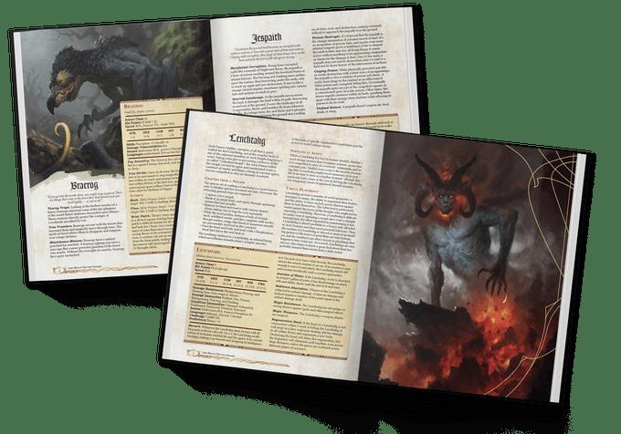 Grim Hollow: The Monster Grimoire
