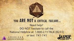 You Are Not a Critical Failure