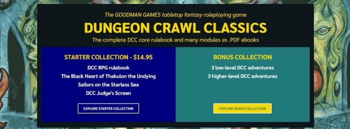 Dungeon Crawl Classics bundle