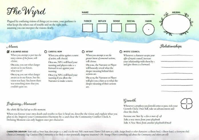 Briar & Bramble sheet