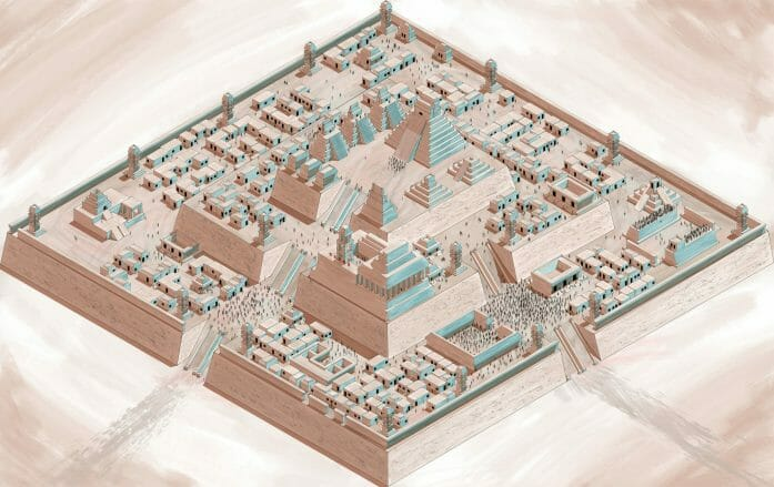 Aztec city of Paloti