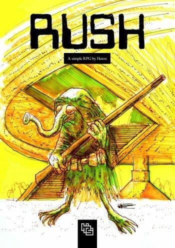 RUSH sci-fi RPG