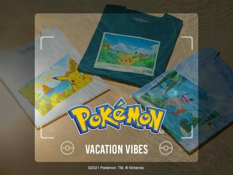Pokemon Snap t-shirts