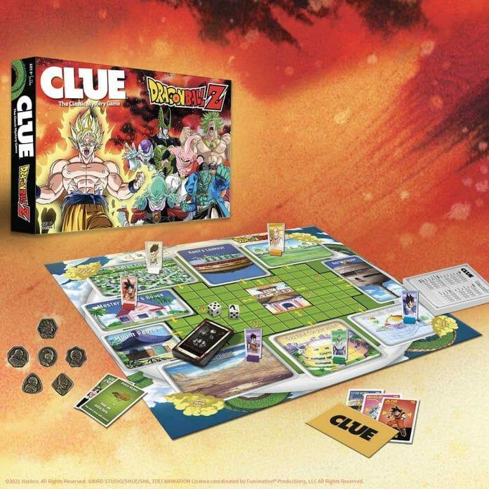Clue: Dragon Ball Z