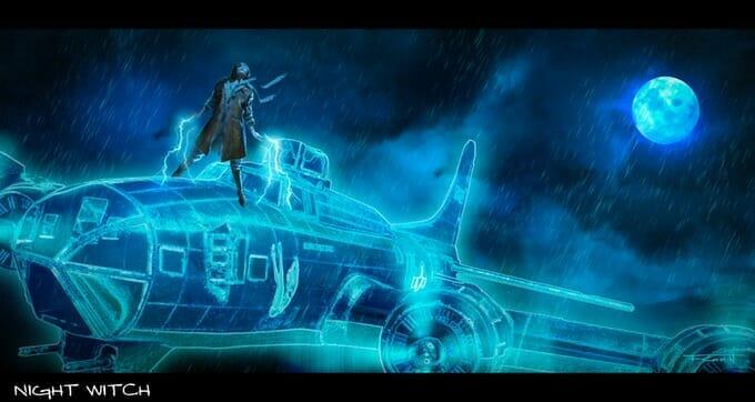 Morra RPG - Night Witch