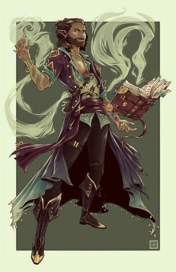 Green Wizard by OhHeyItsKaylaK
