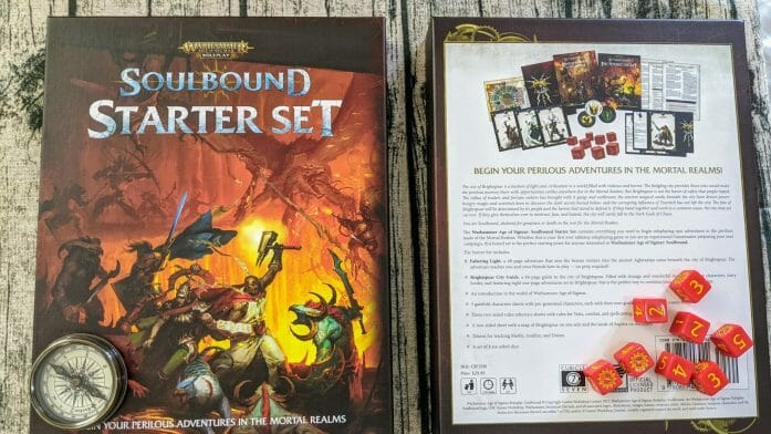 Soulbound Starter Set box covers