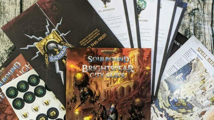 Soulbound Starter Set contents