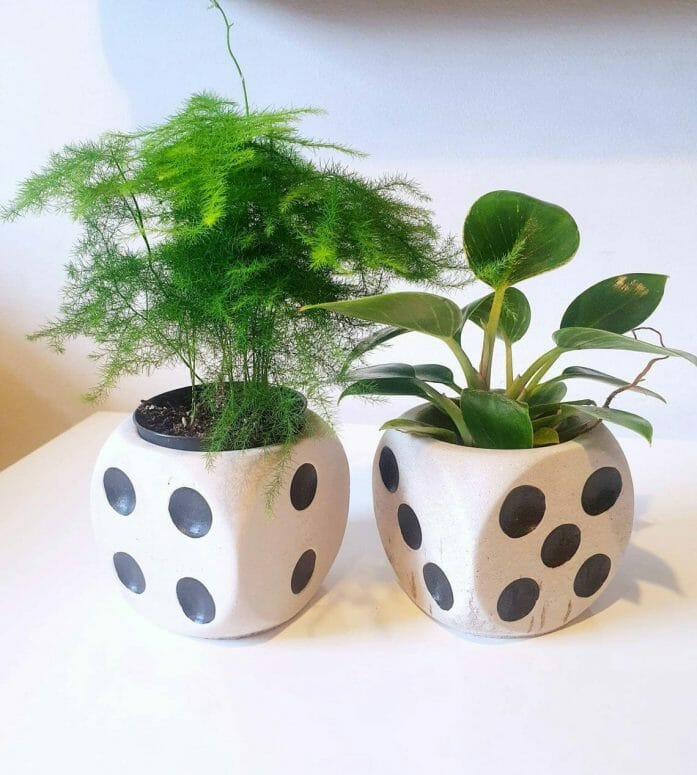 Handmade Concrete Plant Pot