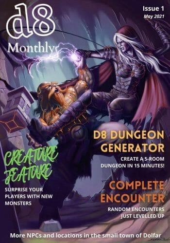 d8 montly magazine