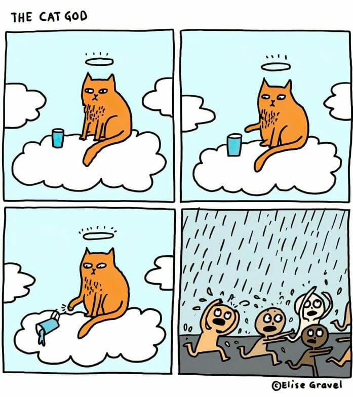 The Cat God by Elise Gravel