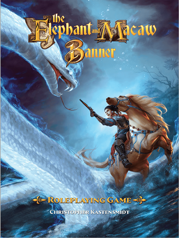 The Elephant & Macaw Banner Roleplaying Game