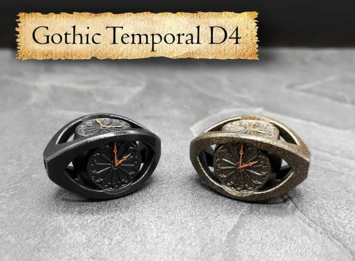 Gothic Temporal d4