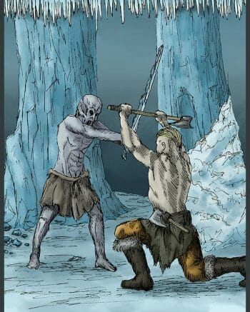 Ice caves fight