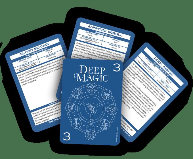 Deep Magic Spell Cards