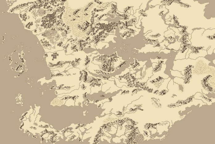 Map of Faerun