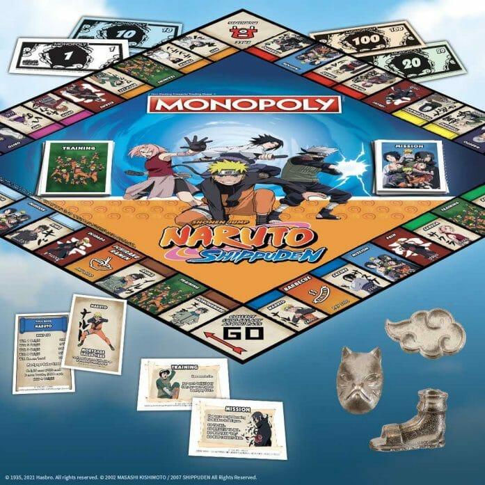 MONOPOLY: Naruto Shuppuden