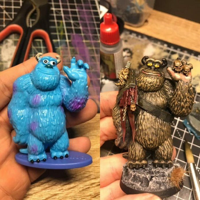 Sulley bugbear conversion