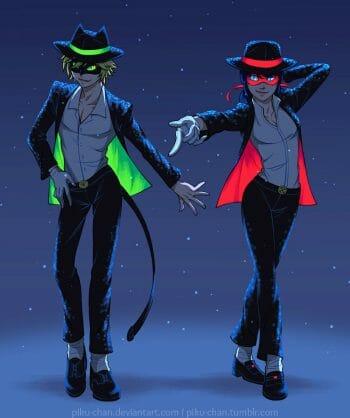 Moonwalk Duet by piku-chan
