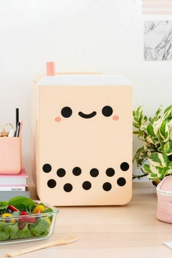 Kawaii office fridge