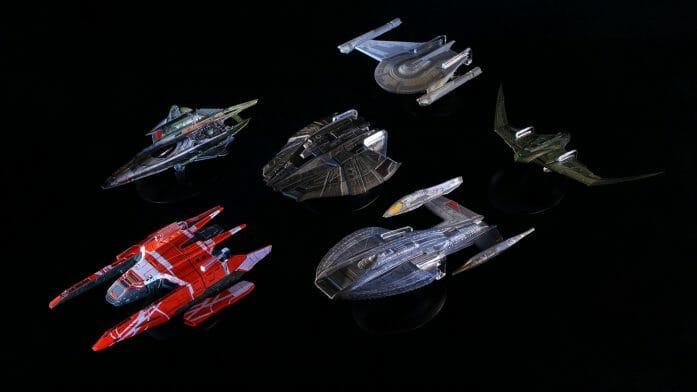 Die-cast Star Trek Universe range