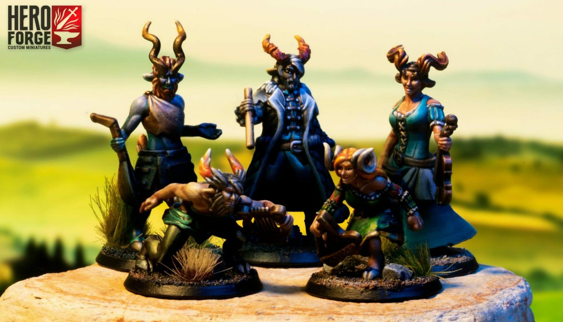 Hero Forge horns