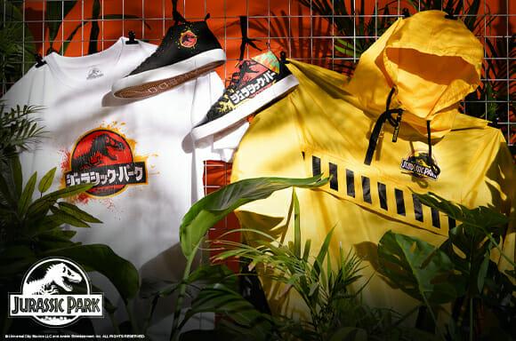 Jurassic Park fashion kit launches at Zavvi