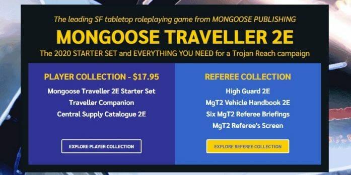 Mongoose Traveller 2e